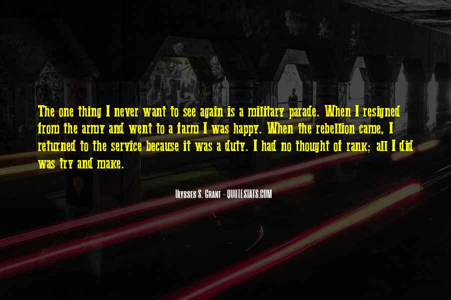 Quotes About Duty Military #1518137