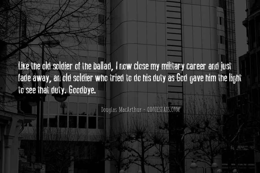Quotes About Duty Military #277054