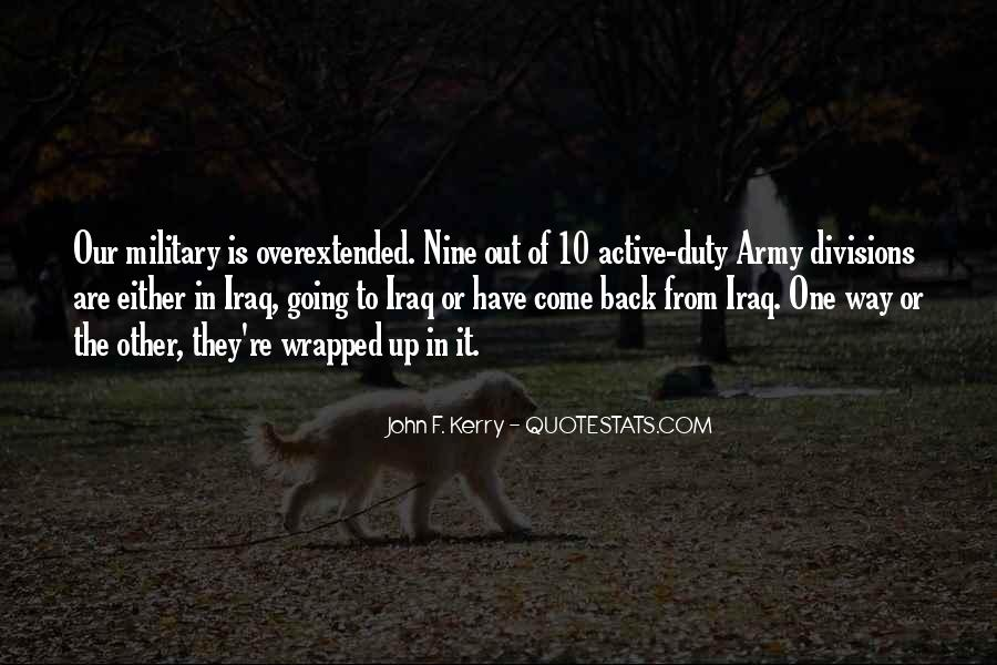 Quotes About Duty Military #324740