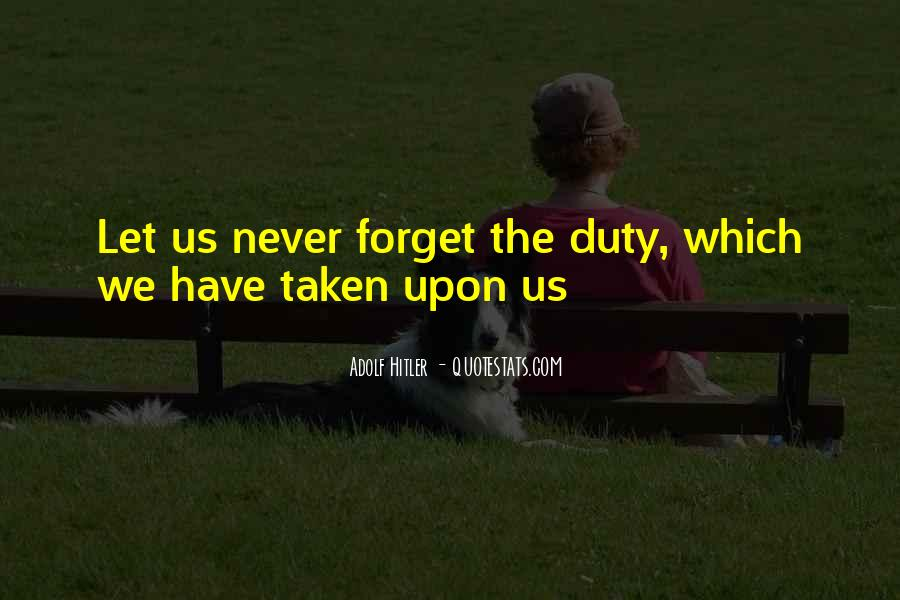 Quotes About Duty Military #348129