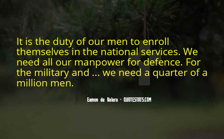 Quotes About Duty Military #618949