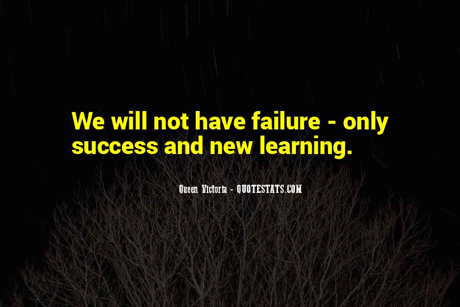 Quotes About Failure Before Success #102115