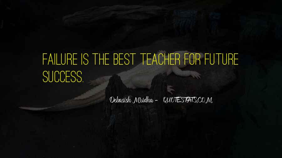 Quotes About Failure Before Success #17899