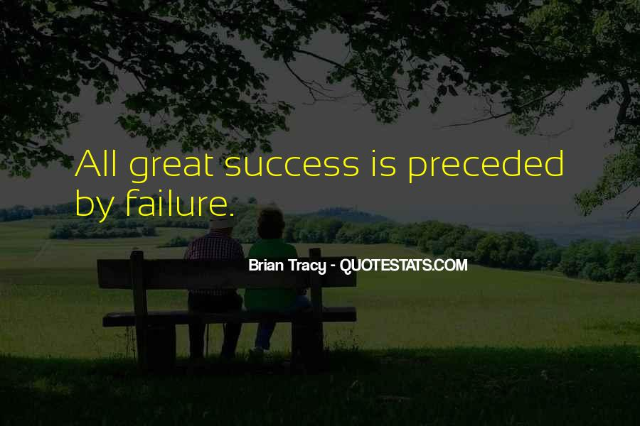 Quotes About Failure Before Success #30763