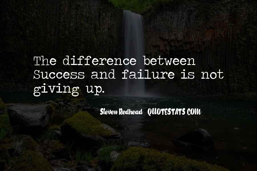 Quotes About Failure Before Success #38976