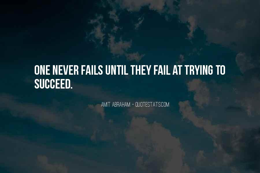Quotes About Failure Before Success #53162