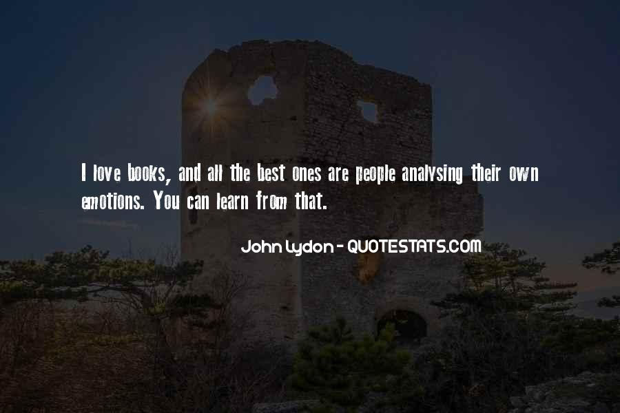 Quotes About Over Analysing #1319081