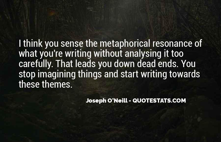 Quotes About Over Analysing #1667129