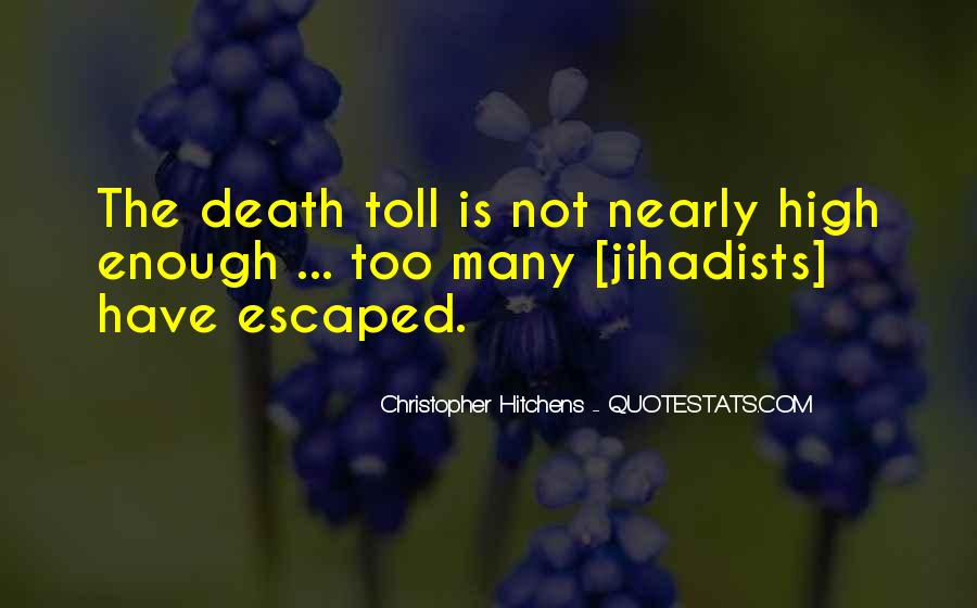 Quotes About Tolls #1593673