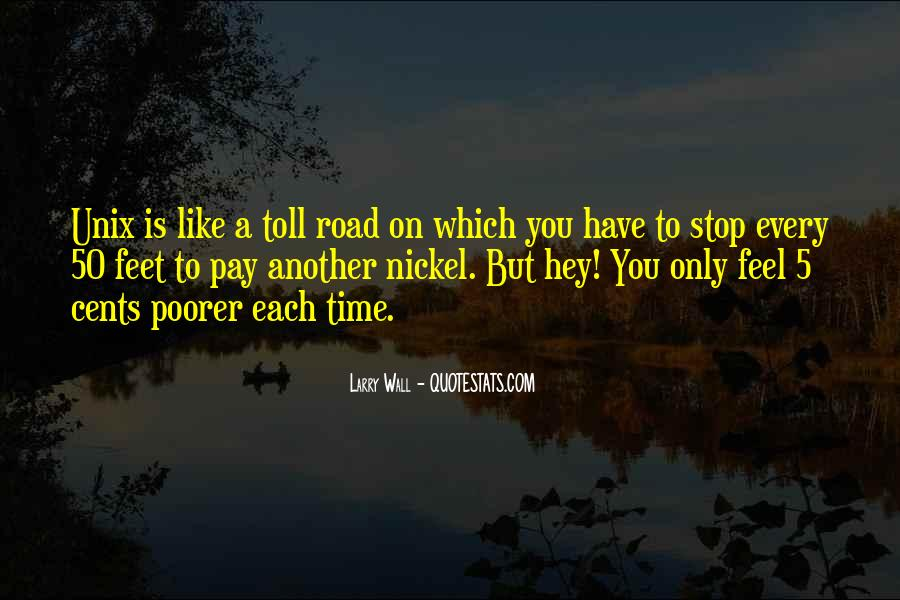 Quotes About Tolls #792259