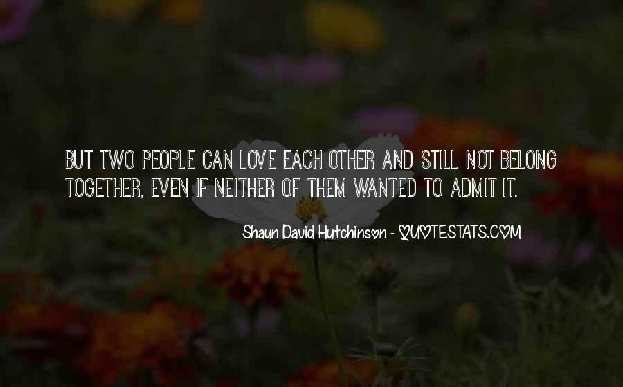 Quotes About Two People In Love But Cant Be Together #755457