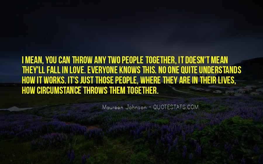 Quotes About Two People In Love But Cant Be Together #822040
