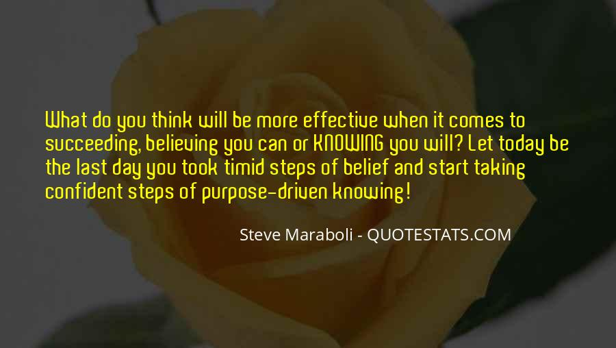 Quotes About Purpose And Success #11922