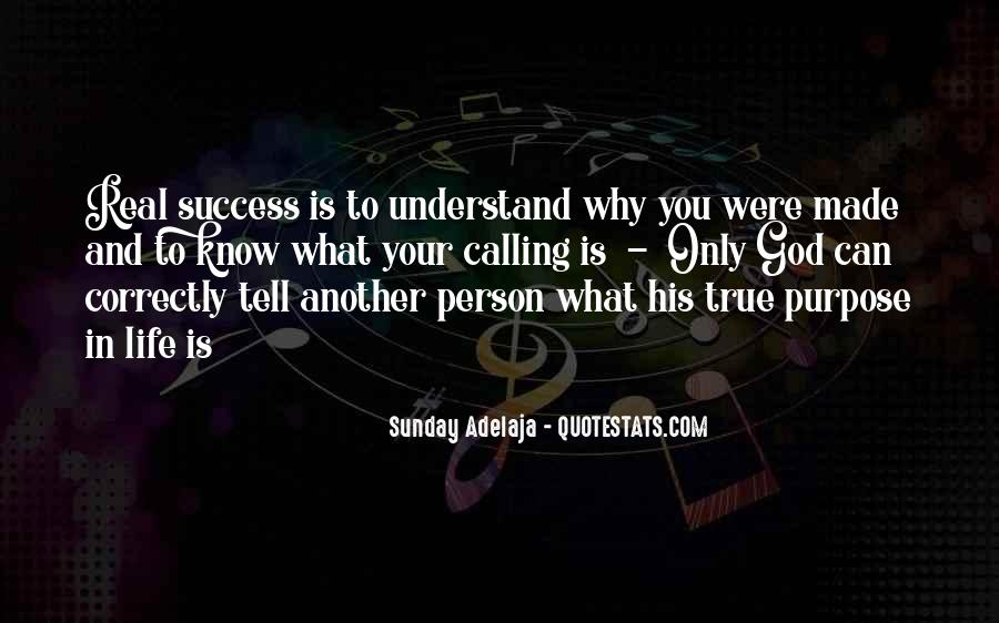 Quotes About Purpose And Success #249225