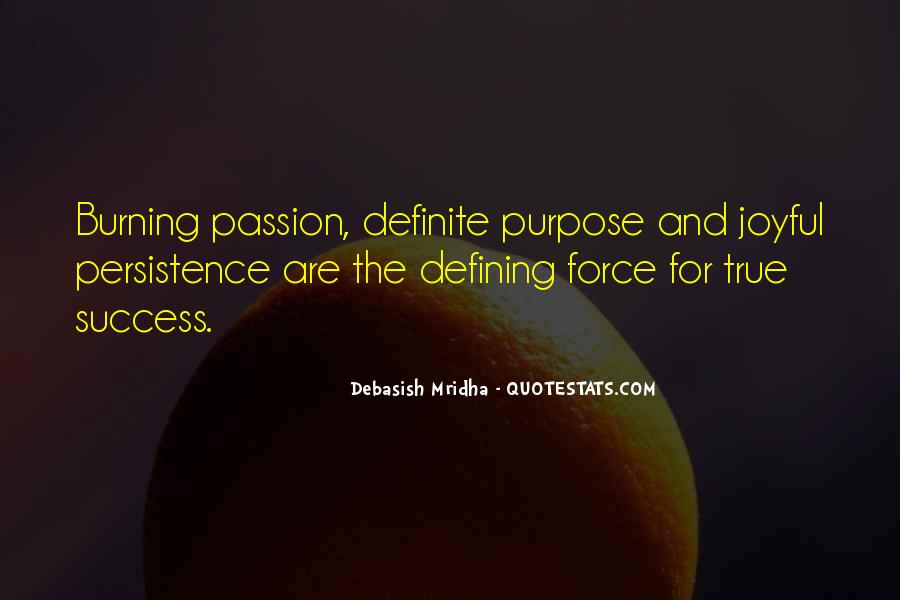 Quotes About Purpose And Success #326910