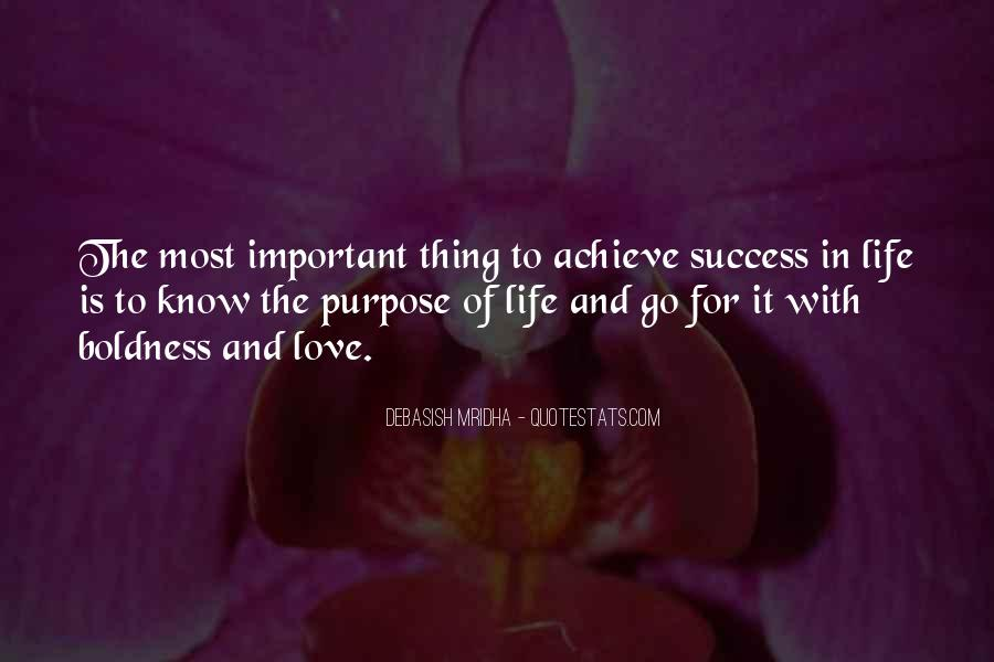 Quotes About Purpose And Success #374257