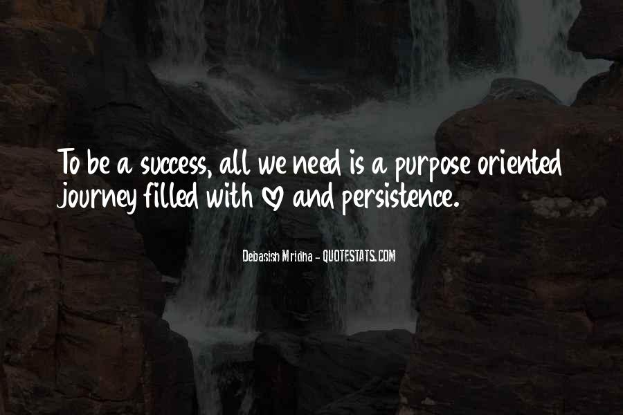 Quotes About Purpose And Success #572575