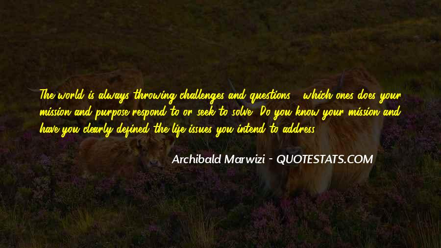 Quotes About Purpose And Success #595594