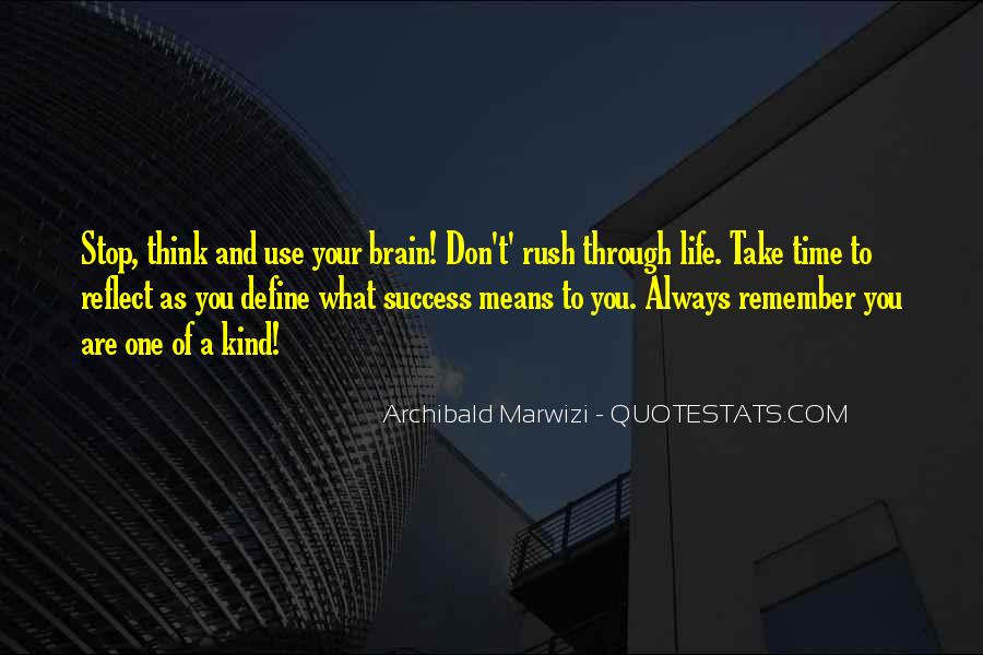 Quotes About Purpose And Success #729404