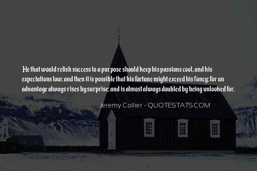 Quotes About Purpose And Success #98481