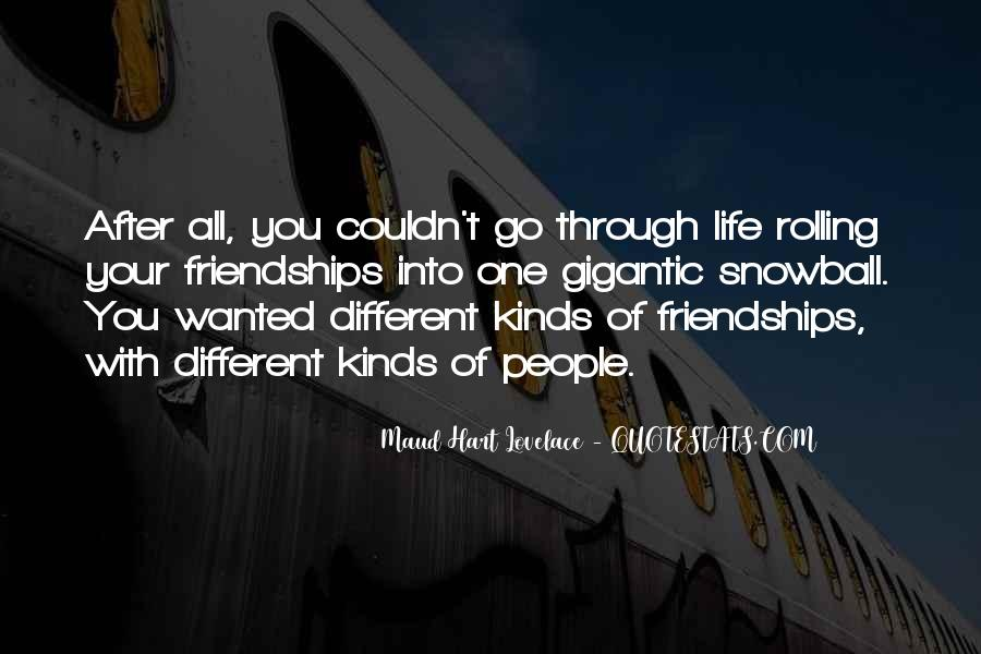 Quotes About Life Friendship #170312