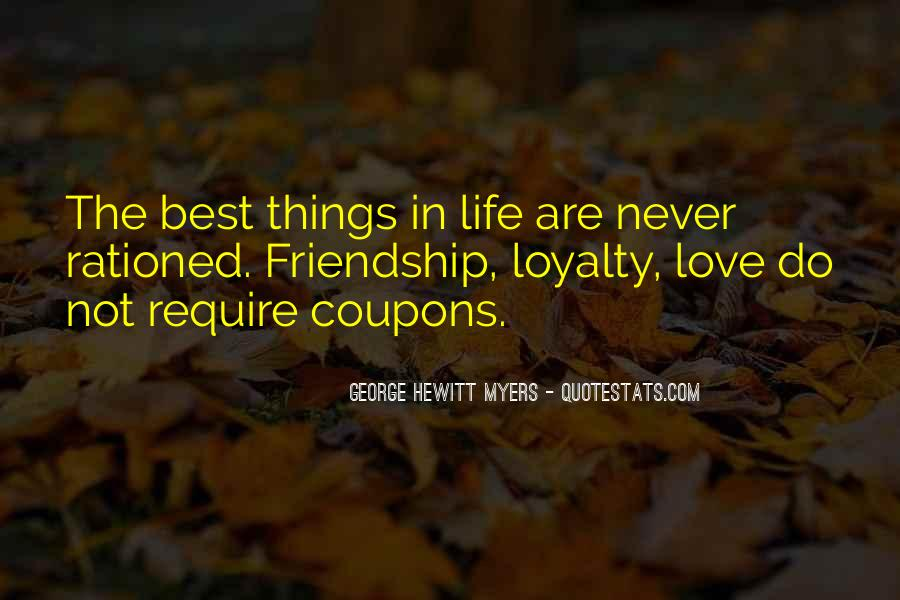 Quotes About Life Friendship #30165