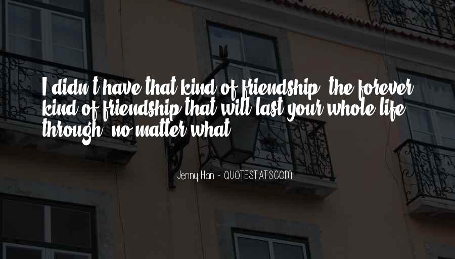 Quotes About Life Friendship #37112