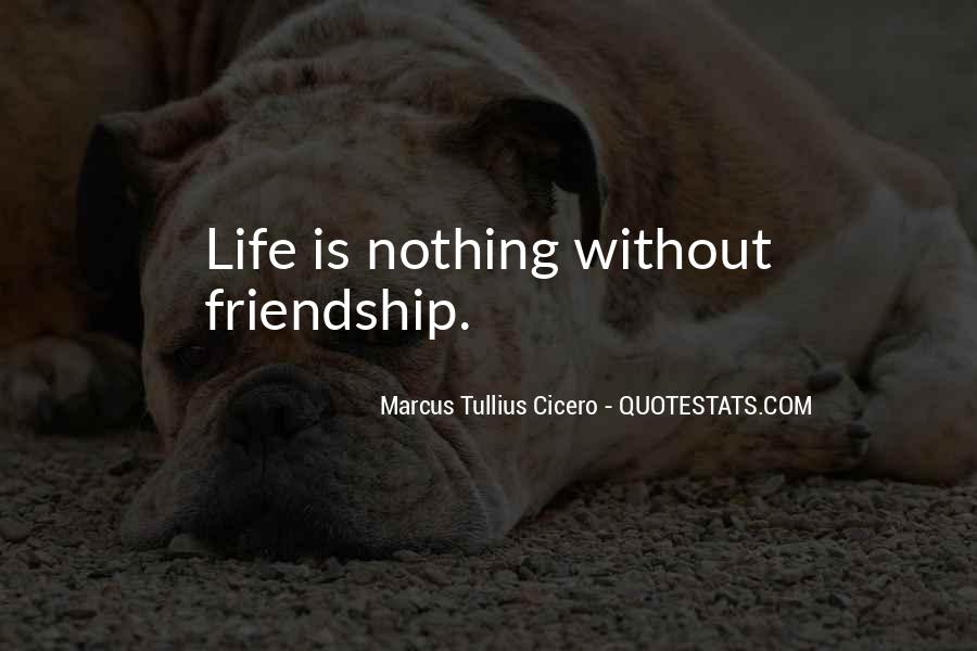 Quotes About Life Friendship #42850