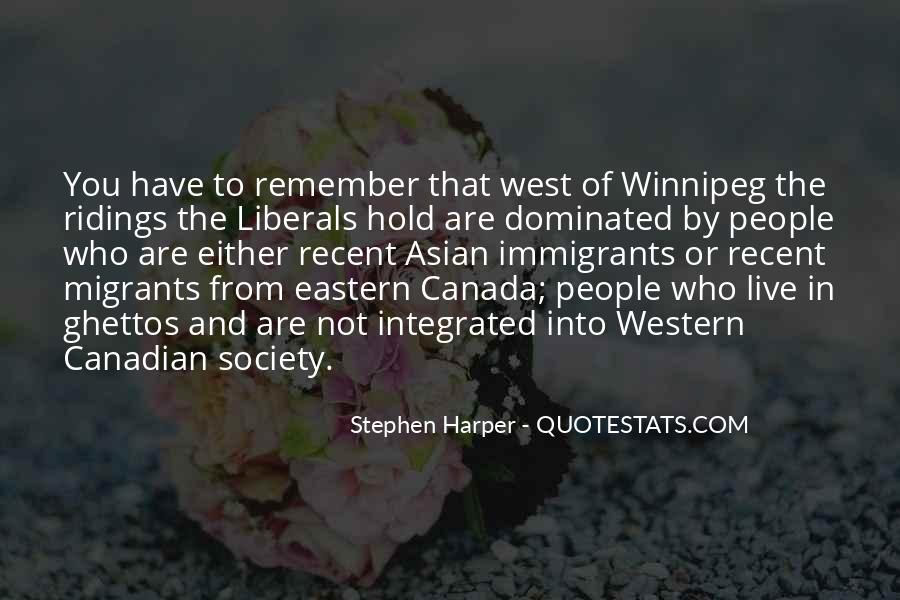 Quotes About Western Canada #616215