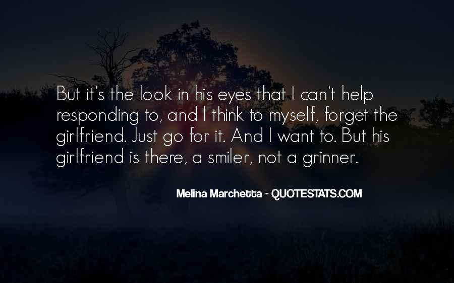 Quotes About Your Girlfriend's Eyes #1251138