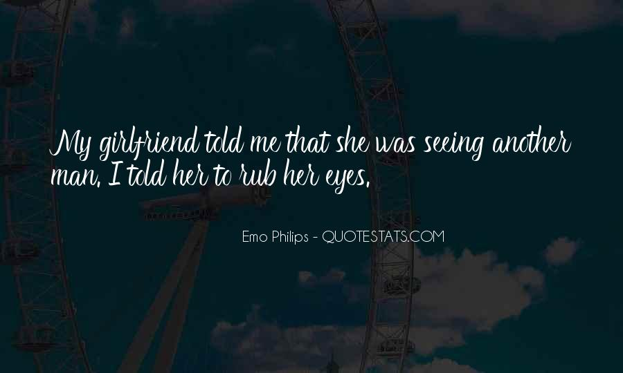 Quotes About Your Girlfriend's Eyes #150666