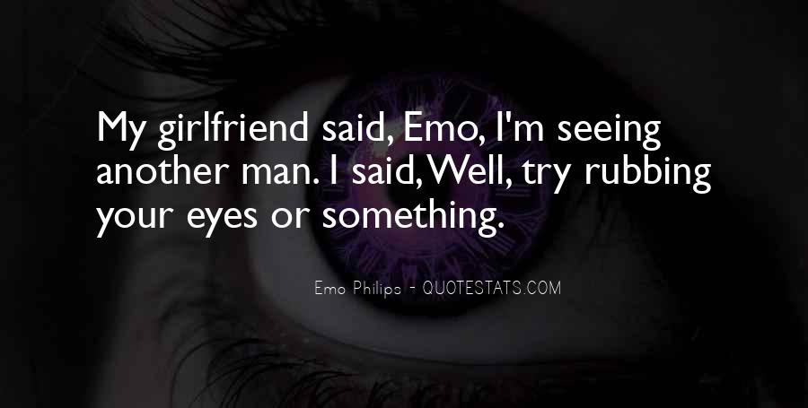 Quotes About Your Girlfriend's Eyes #656004