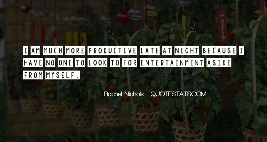 Quotes About Self Entertainment #34291
