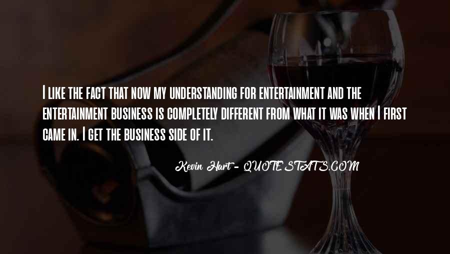Quotes About Self Entertainment #46935