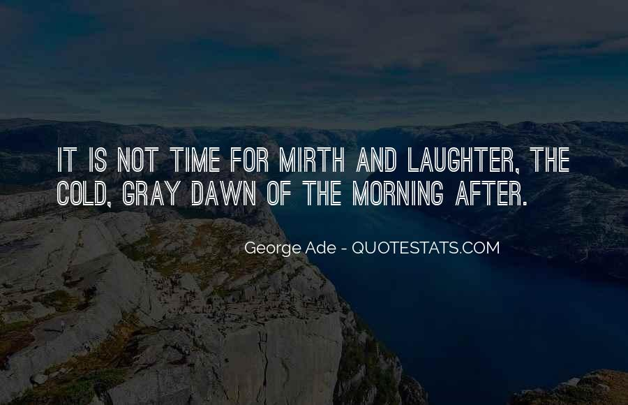 Quotes About Mirth #229443