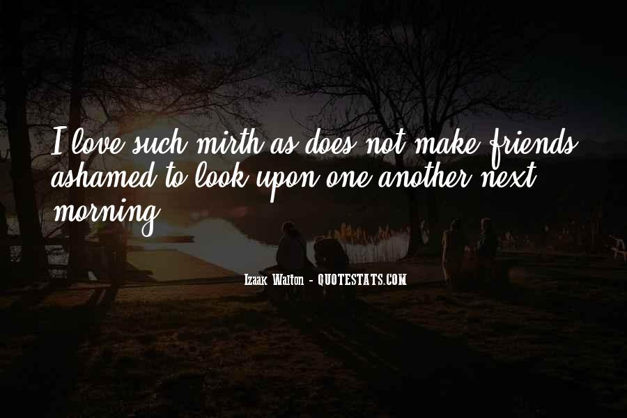 Quotes About Mirth #611175