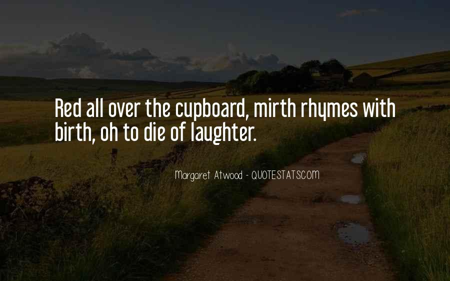 Quotes About Mirth #8703