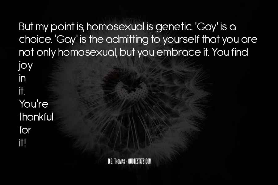 Quotes About Admitting Your Gay #1496534