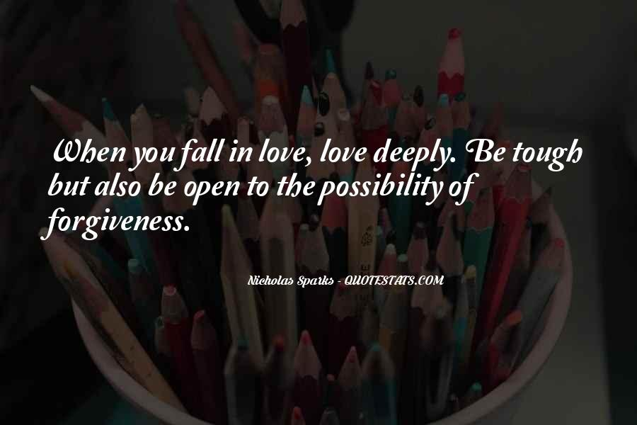 Quotes About Falling Deeply In Love #1069250