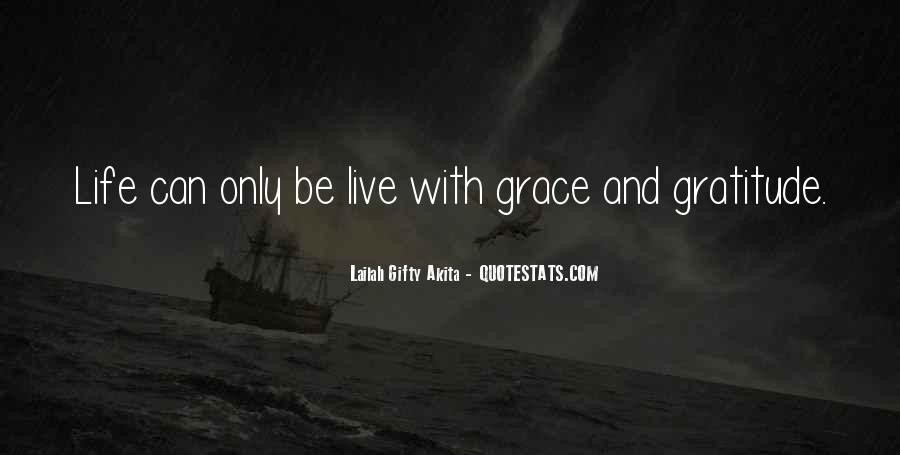 Quotes About Grace And Gratitude #107717