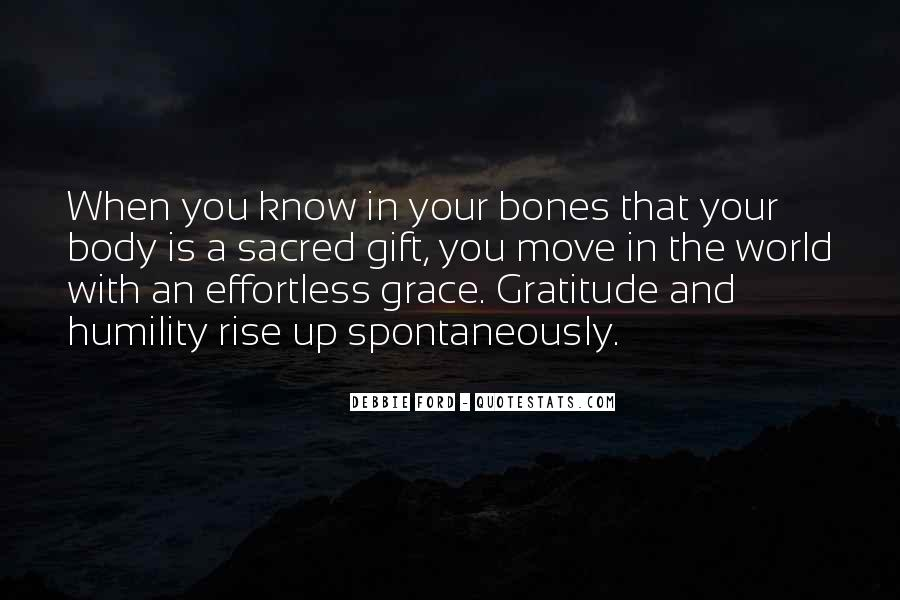 Quotes About Grace And Gratitude #528407