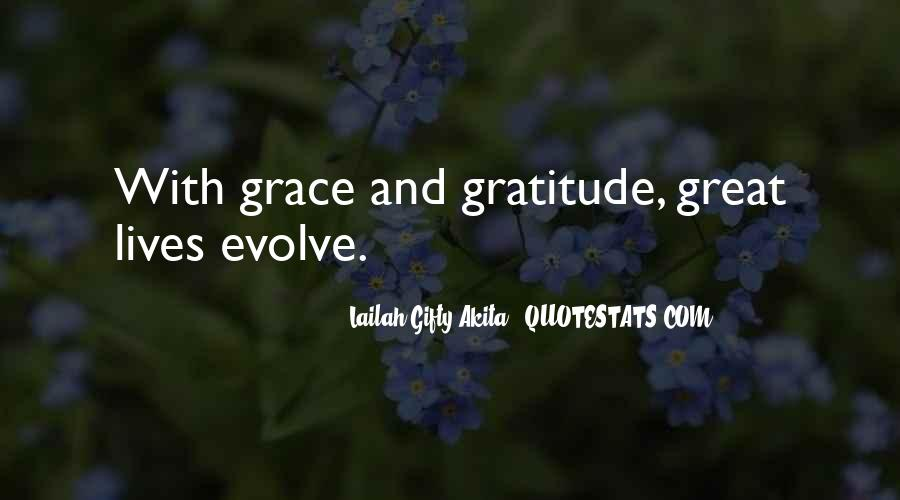 Quotes About Grace And Gratitude #580333