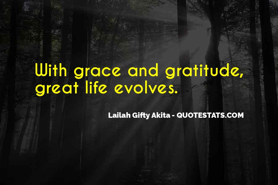 Quotes About Grace And Gratitude #855342