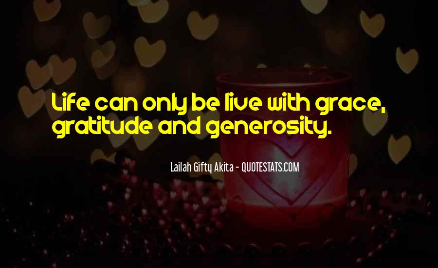 Quotes About Grace And Gratitude #859684