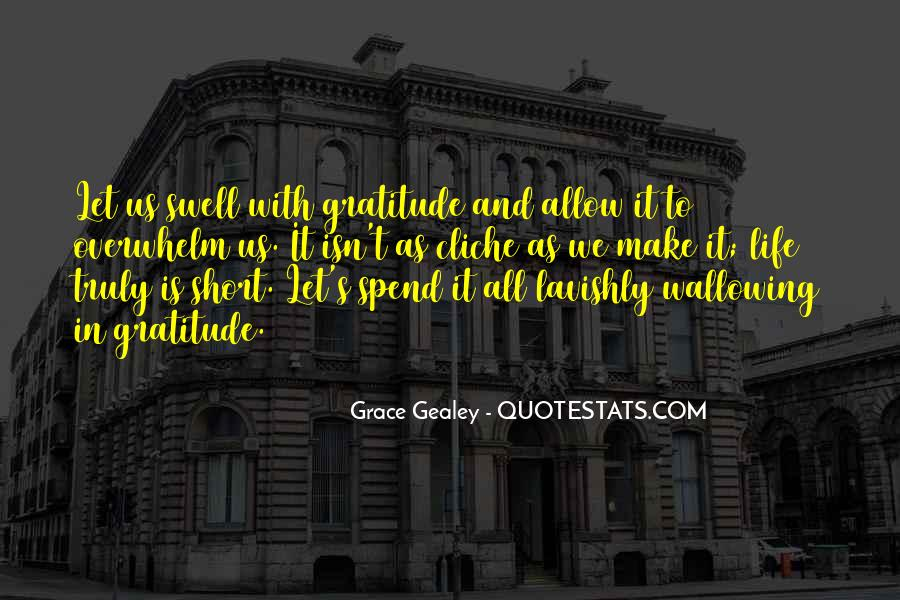 Quotes About Grace And Gratitude #96092