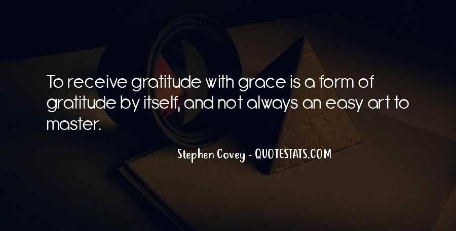 Quotes About Grace And Gratitude #961665