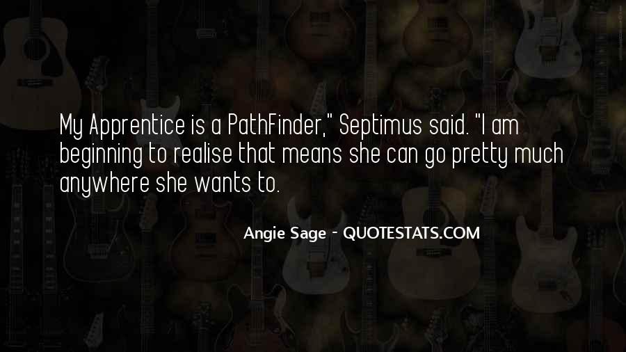 Quotes About Septimus #1089445