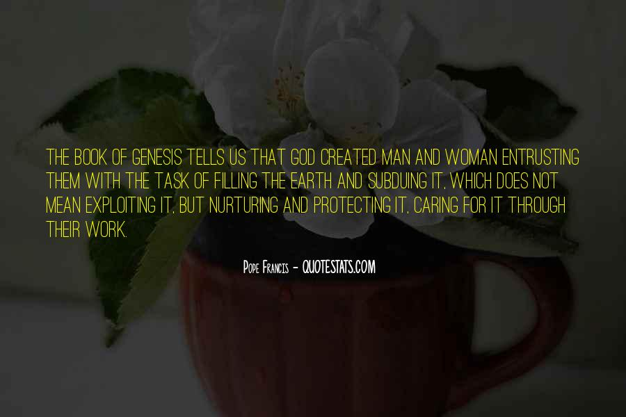 Quotes About God Created Woman #1296522