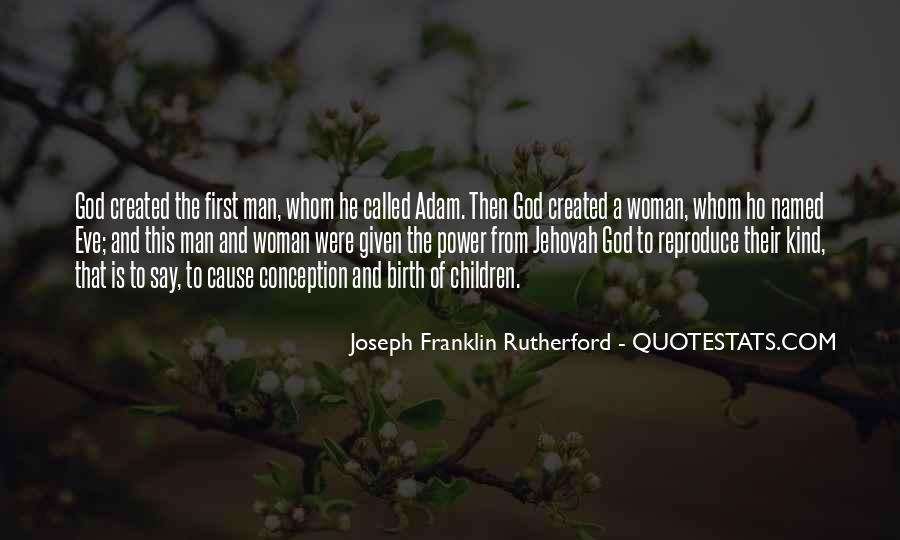 Quotes About God Created Woman #171591