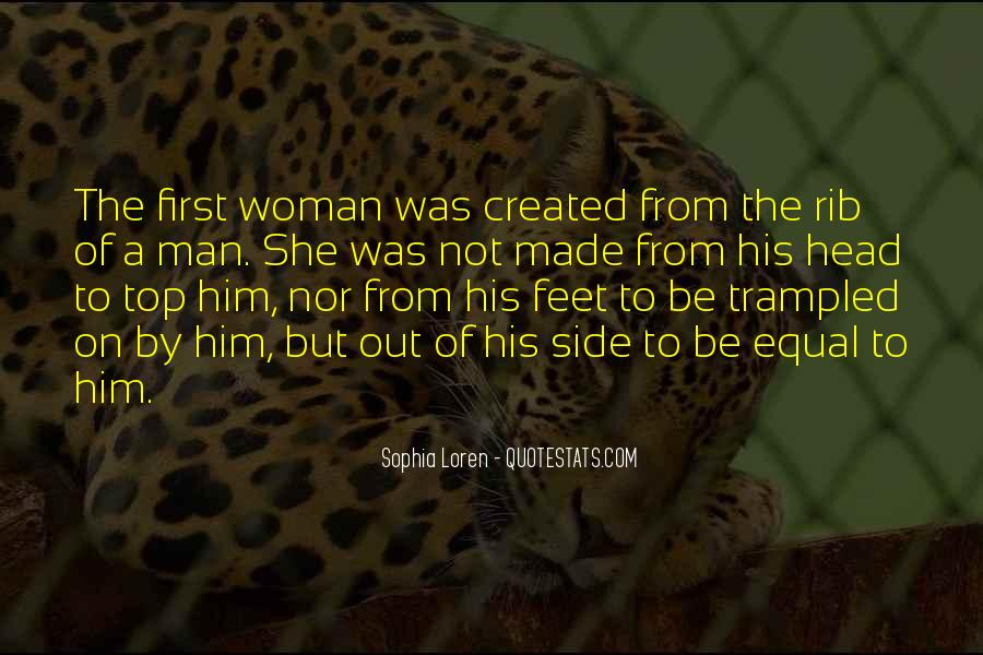 Quotes About God Created Woman #1717978